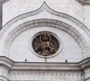 Rzeźba katedra Christ wybawiciel w Moscow zdjęcia stock
