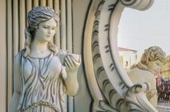 Rzeźba kobieta zdjęcia royalty free