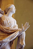 Rzeźba kobieta obraz royalty free