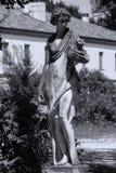 Rzeźba kobieta w włoszczyzna ogródzie obraz stock