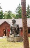 Rzeźba Lenin Grutas park obraz royalty free