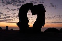 Rzeźba morzem - pył Obraz Royalty Free