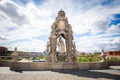 Rzeźba na Toledo moscie Zdjęcie Stock