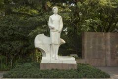 Rzeźba ogrodowy Szanghaj publicznie fotografia royalty free