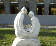 rzeźba opuszcza rodziny zdjęcie royalty free