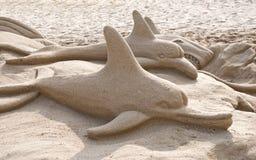 rzeźba piasek. zdjęcie stock