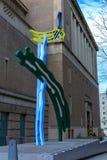 Rzeźba Portlandzka muzeum sztuki powierzchowność Obraz Stock