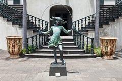 Rzeźba przy Monte pałac Obrazy Stock