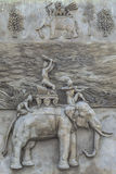 Rzeźba słonie Obrazy Stock