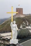Rzeźba St Helena zdjęcie royalty free