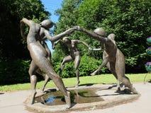 Rzeźba taniec obraz stock