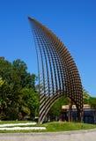 Rzeźba w Cambrils mieście, Hiszpania Zdjęcia Royalty Free