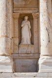 Rzeźba w Ephesus indyk zdjęcia royalty free