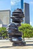 Rzeźba w Houston zdjęcia royalty free