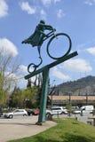 Rzeźba w Santiago, chile Zdjęcie Stock