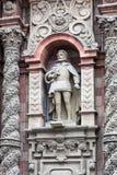 rzeźba w starym kościół obraz royalty free