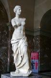 Rzeźba Wenus De Milo w louvre obrazy stock