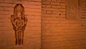 Rzeźbiąca ściana obraz royalty free