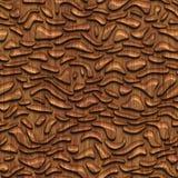 Rzeźbiąca drewniana bezszwowa tekstura ilustracji
