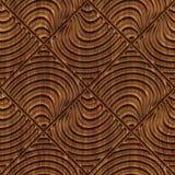 Rzeźbiąca drewniana bezszwowa tekstura royalty ilustracja