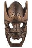 Rzeźbiąca Drewniana Maska Fotografia Royalty Free