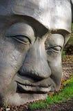 Rzeźbiąca kamień głowa Zdjęcia Stock