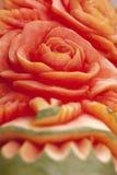 rzeźbiąca owoc Zdjęcia Royalty Free