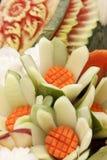 rzeźbiąca owoc Fotografia Royalty Free
