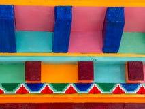 Rzeźbiąca powierzchowność Nepalski zakończenie up Fotografia Royalty Free