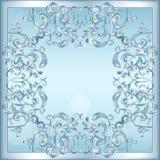 Rzeźbiąca rama lód dla obrazka lub fotografii ilustracji