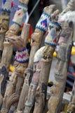 Rzeźbiący Chodzący Kije obrazy stock