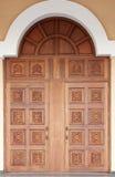 rzeźbiący drzwi fasonujący stary Obrazy Stock