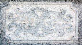 Rzeźbiący kamienni lwy stoi w Chińskiej świątyni Zdjęcie Stock