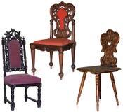 rzeźbiący krzesła Fotografia Stock