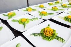 Rzeźbiący owocowy warzywo obraz royalty free