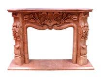 rzeźbiący rzemiosła kominka materiału kamień Obraz Royalty Free