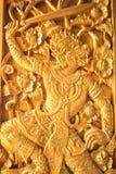 rzeźbiący tajlandzki Obraz Royalty Free