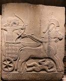 Rzeźbiący w muzeum Anatolian cywilizacje, Ankara obrazy stock