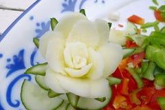 Rzeźbiący warzywa Obrazy Royalty Free