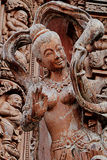 Rzeźbić drewniane rzeźby w świacie Sanktuarium prawda, Pattaya, Tajlandia Obraz Stock