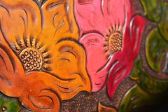 Rzeźbić rzemiennych kwiaty zdjęcie royalty free
