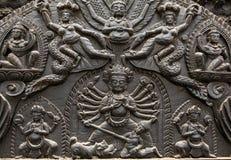 Rzeźbić statuy na Durbar Obciosują w Kathmandu Nepal Obrazy Royalty Free