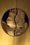 Rzeźbić wielmóż twarze jako wystrój zdjęcie royalty free