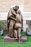 Rzeźbi 'powrót Rozrzutny syn' obrazy stock