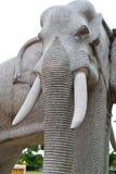 rzeźbi słonia kamień Zdjęcie Stock
