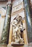 Rzeźbi w wnętrza o Siena Duomo Katedralnych di Siena, Ja Obraz Stock