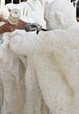 Rzeźbiarz robi rzeźbie Fotografia Royalty Free