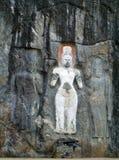Rzeźbiony portret kamień Obrazy Stock