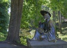 Rzeźby kitaiskogo mędrzec zdjęcie royalty free