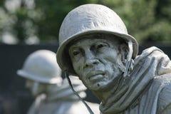 rzeźby koreańska wojna Zdjęcia Stock
